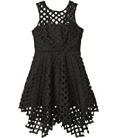 Lattice Embroidery Annemarie Dress (Big Kids)
