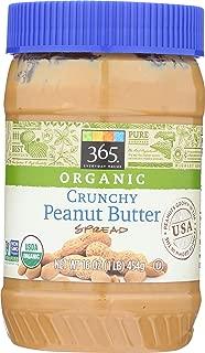 365 Everyday Value, Organic Crunchy Peanut Butter, 16 oz