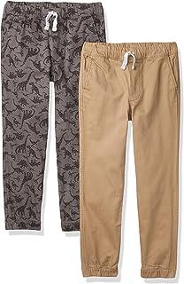 Amazon Essentials Pantalones de chándal Tejidos sin Cierre Niños