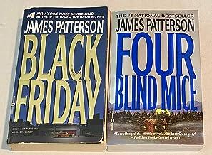SET OF 2 JAMES PATTERSON NOVELS! Black Friday & Four Blind Mice