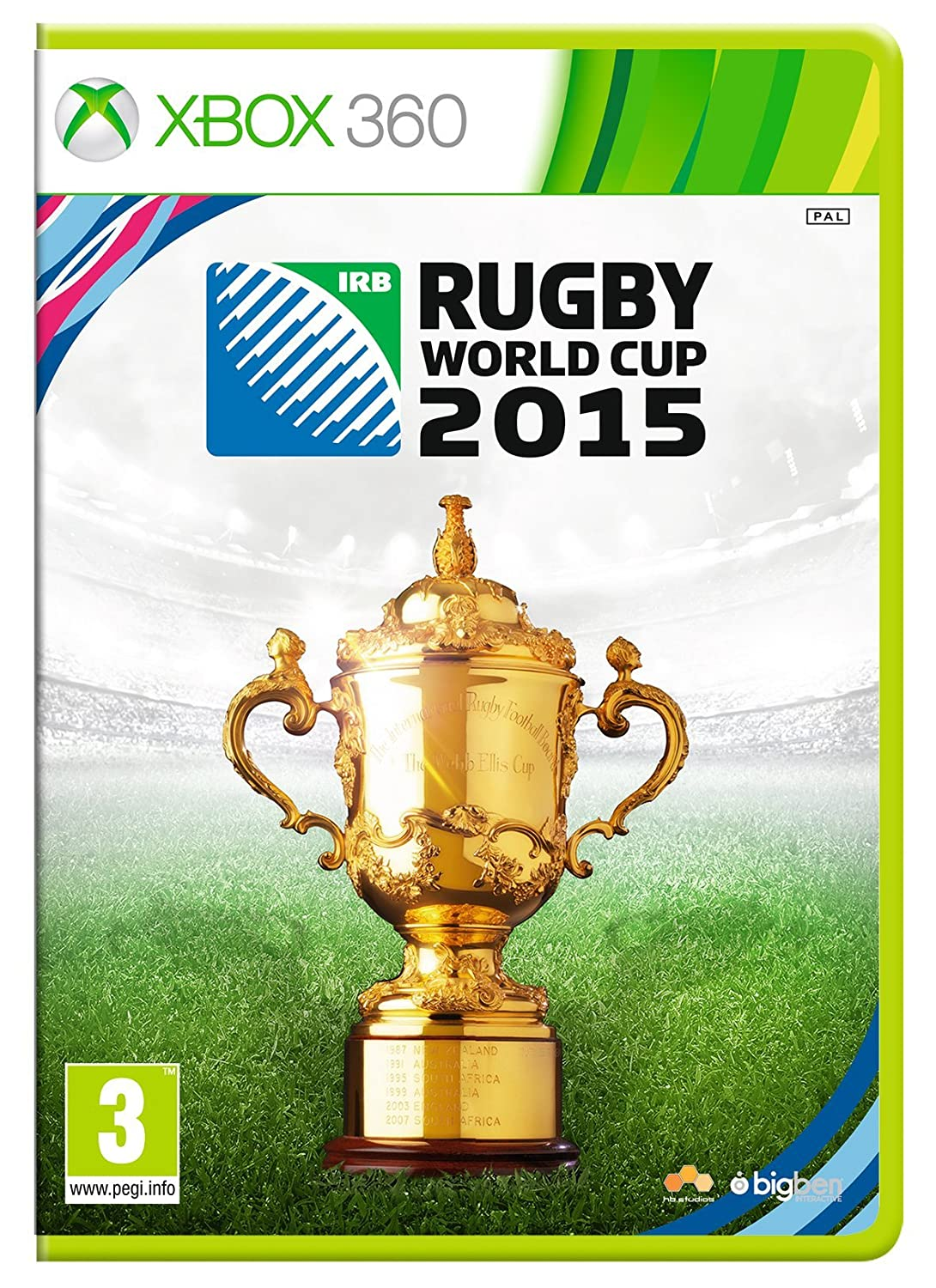 Rugby World Cup Manufacturer direct delivery Xbox 2015 sold out 360