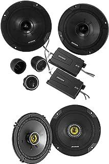 "KICKER 46CSS654 6.5"" 600w Car Audio Component Speakers+2) 46CSC654 6.5"" Speakers photo"