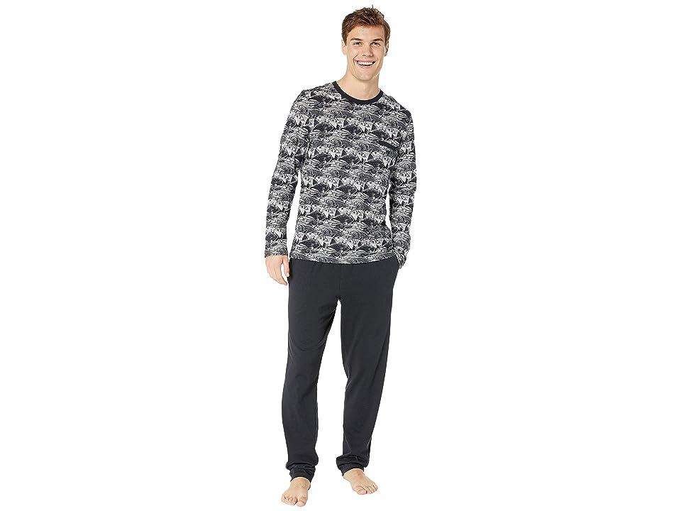 HOM Silversea Long Sleepwear (Navy) Men