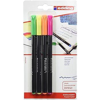 Portatodo + 14 rotuladores Edding 1200: Amazon.es: Oficina y papelería
