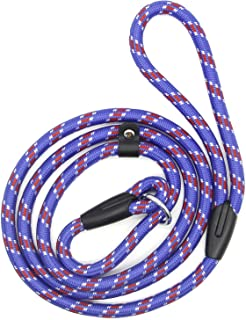 Coolrunner 5 FT Nylon Dog Leash, Pet Slip Lead, Heavy Duty Dog Rope, Standard Adjustable Dog Training Leash for Small & Me...