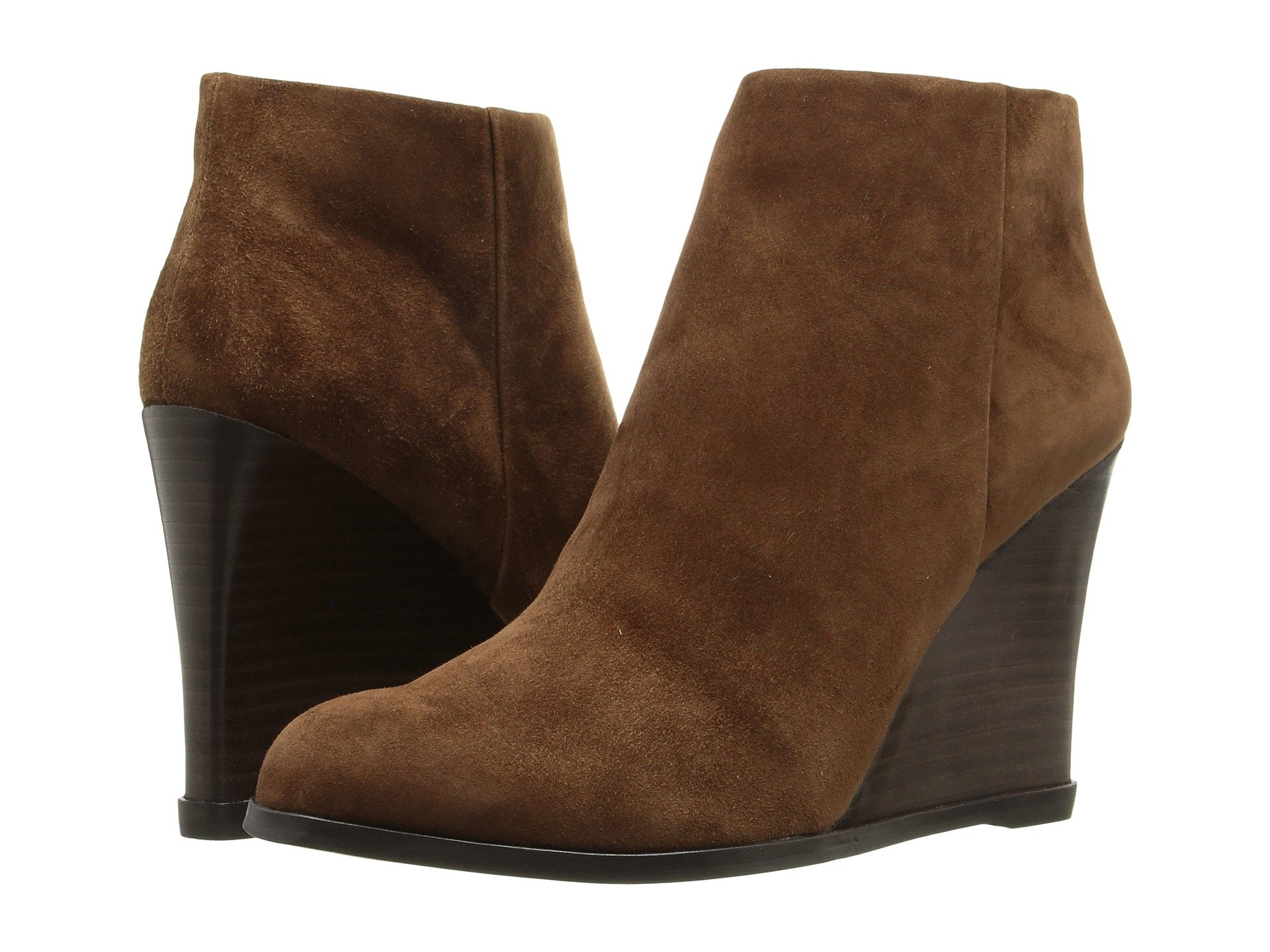 Vince Camuto Women's Gemina Ankle Bootie, Coco, 10 M US