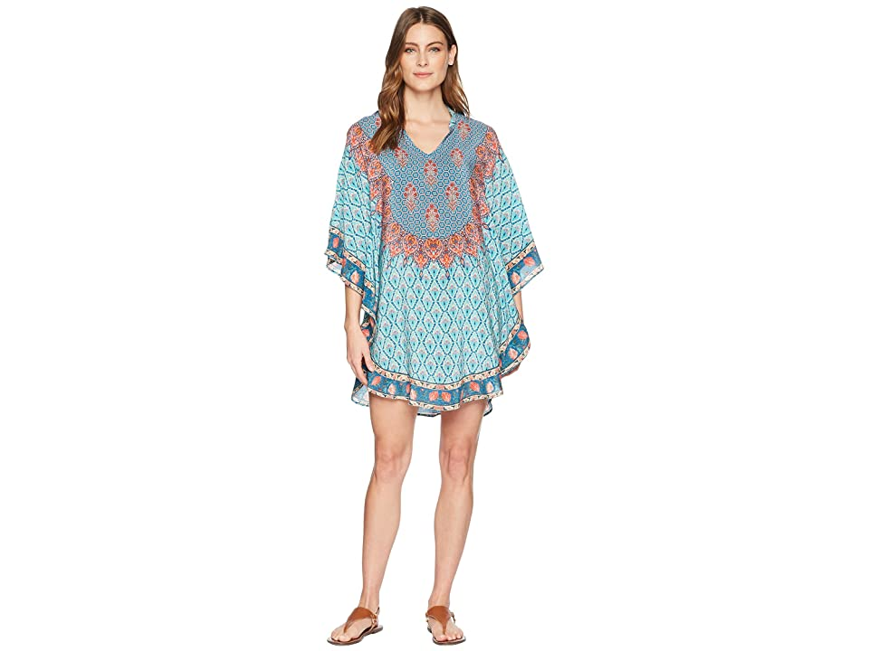 Tolani Belle Tunic Dress (Turquoise) Women