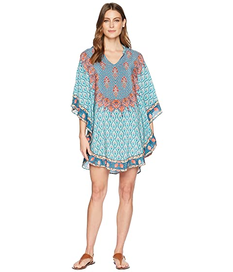 Belle Tunic Dress, Turquoise