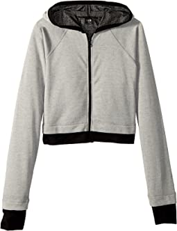 Bloch Kids Zip Hooded Jacket (Little Kids/Big Kids)
