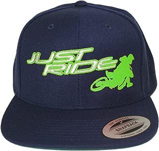 Back It in Supermoto Motocross Hat Flat Bill Snapback