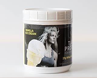 Tiara Protein 2-lb (Vanilla) - 100% Whey Protein Isolate - Highest Quality Protein - Delicious Taste!