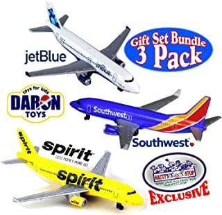 Daron Southwest, JetBlue & Spirit Airlines Die-cast Planes