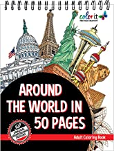 Best travel coloring pages for adults Reviews
