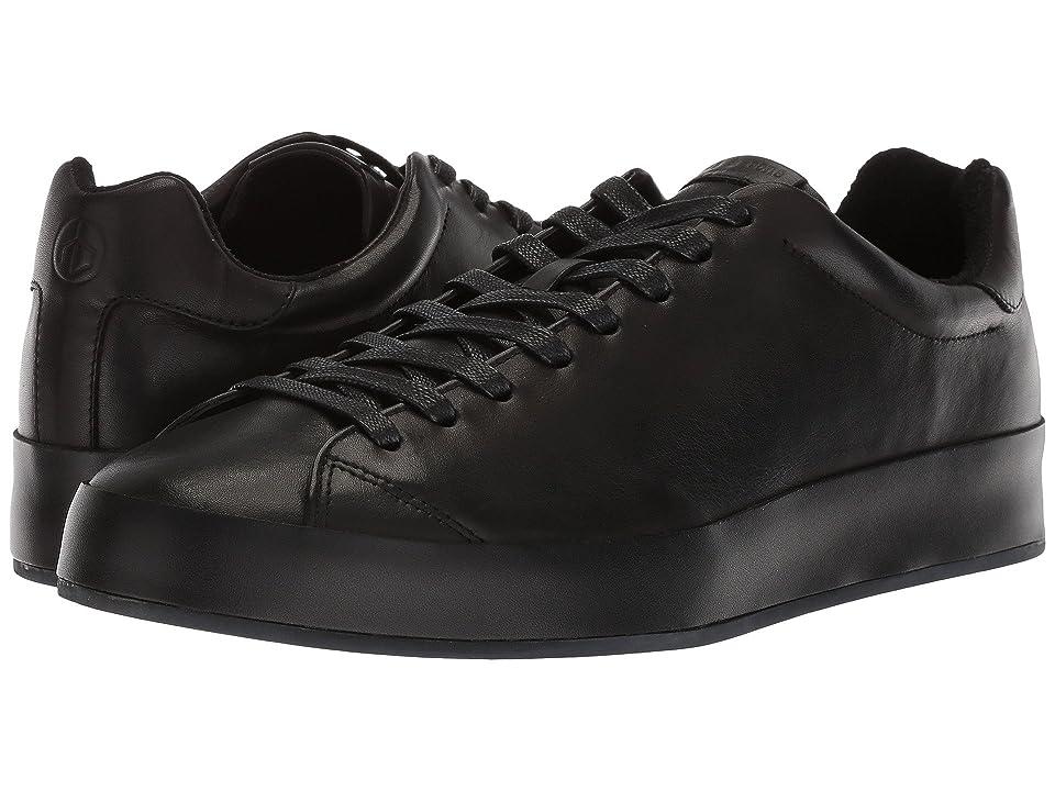 rag & bone RB1 Low Top Sneakers (Black Smooth Nappa) Men