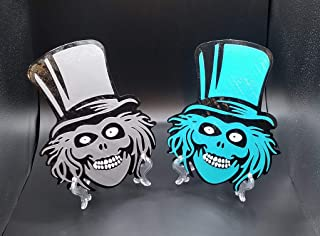Haunted Mansion Hat Box Ghost Inspired Prop Sign/Plaque Replica