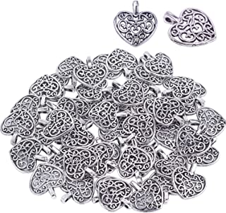 Best metal heart charms Reviews