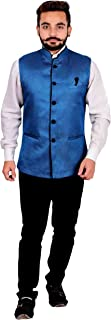 Men's Nehru Gandhi style Waistcoat for Indian Bollywood theme party costume 1012
