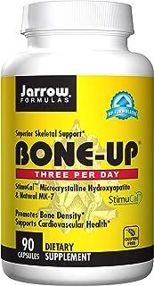 Jarrow Formulas Bone-Up-Three Per Day Caps, Promotes Bone Density, 90 Count