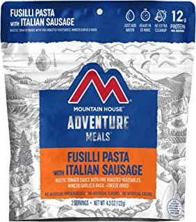 Mountain House Fusilli Pasta | Freeze Dried Backpacking & Camping Food