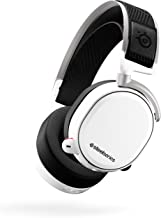 SteelSeries Arctis Pro Wireless Gaming Headset - Lossless High Fidelity Wireless + Bluetooth for PS4 and PC - White