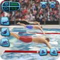 US Swimming Pool Race Game: Summer Sports Water Challenge
