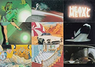 HEAVY METAL THE MOVIE & MORE 1996 COMIC IMAGES COMPLETE BASE CARD SET OF 90
