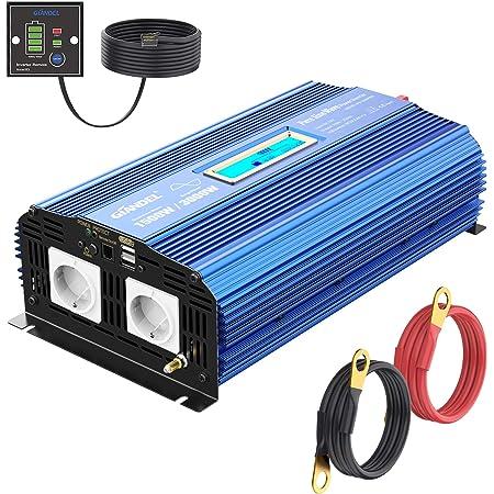 Reiner Sinus Wechselrichter 1500w Spannungswandler 12v Elektronik