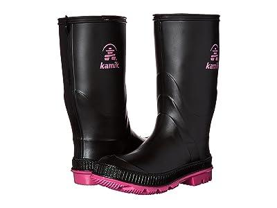 Kamik Kids Stomp 2 (Toddler/Little Kid/Big Kid) (Black/Magenta) Girls Shoes