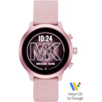 Michael Kors Access MKGO 43mm Aluminum Smartwatch with Heart Rate, GPS, NFC, and Smartphone Notifications (Pink)