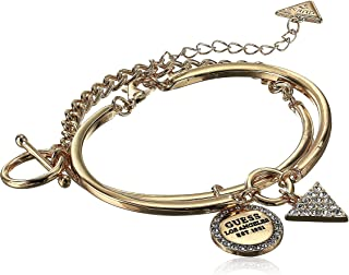 GUESS Women's Two-Piece Bangle Set with Charms