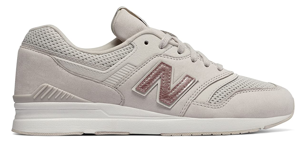 どっちでもフライカイト観察(ニューバランス) New Balance 靴?シューズ レディースライフスタイル 697 Moonbeam US 10 (27cm)