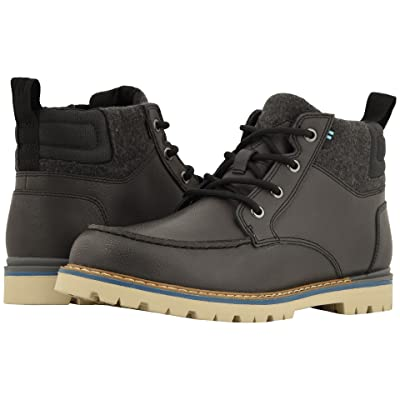 TOMS Hawthorne Waterproof Boot (Forged Iron Leather) Men