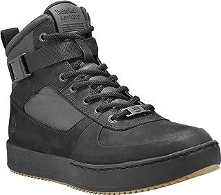 Amherst High Top Chu Black Zapatillas altas para hombre, color Negro, talla 46 EU