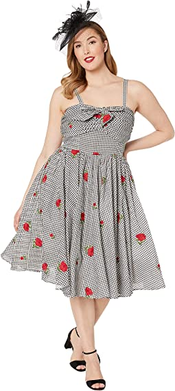 Plus Size 1950s Golightly Swing Dress