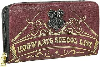 MERCHANDISING Portefeuille officiel HARRY POTTER - Hogwarts school list Coin Pouch, 19 cm, Brown (Marron)