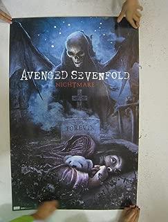 (22x34) Avenged Sevenfold Nightmare Music Poster Print