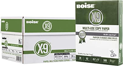 Boise X-9 Multi-Use Copy Paper, 8.5