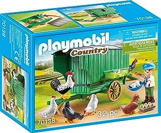 Playmobil 70138Country Mobiles Gallinas hogar