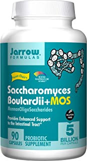 Jarrow Formulas, Saccharomyces Boulardii, 90 Veg Capsules
