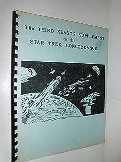 The third season supplement to the Star Trek concordance