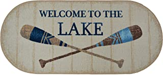 Cozy Cabin SEA10454 20X44 Welcome to The Lake Rug, 20
