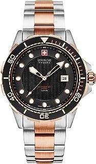 Swiss Military - Reloj Analógico para Hombre de Cuarzo con Correa en Acero Inoxidable 06-5315.12.007