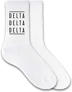 tri delta socks