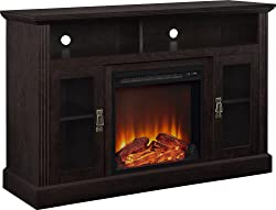 Ameriwood Home Chicago 1764096PCOM Electric Fireplace