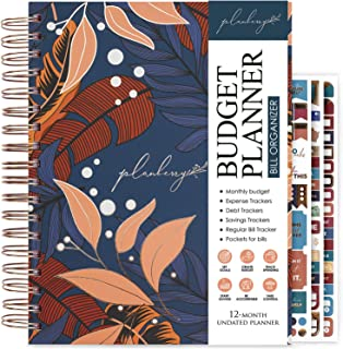 $29 » Sponsored Ad - PLANBERRY Large Budget Planner & Monthly Bill Organizer with Pockets – 8.3″ x 9.4″ Home Finance & Bill Paym...