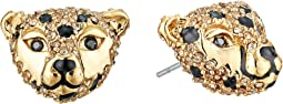 Kate Spade New York - Run Wild Cheetah Stud Earrings