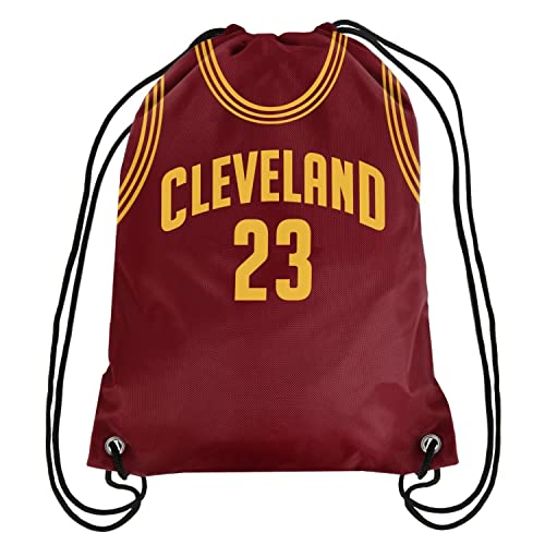 FOCO Cleveland Cavaliers Lebron James  23 Player Drawstring Backpack 22bc8074a