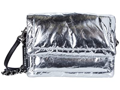 Marc Jacobs The Pillow Bag Metallic (Platinum) Handbags