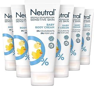 Neutral Baby Crème Parfumvrij - 6 x 100ml - Voordeelverpakking