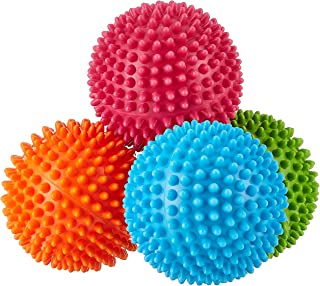 Edushape Small Sensory Balls, 4ct, 6 Mth+